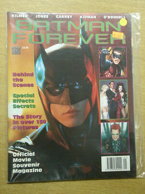 Batman Forever Official Movie Souvenir Vf Titan Us Magazine