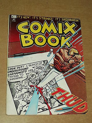 Comix Book #1 1973 Curtis Us Magazine~