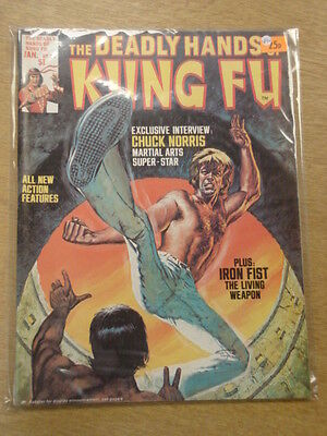 Deadly Hands Of Kung Fu #20 1976 Jan Vf Curtis Us Magazine Chuck Norris <