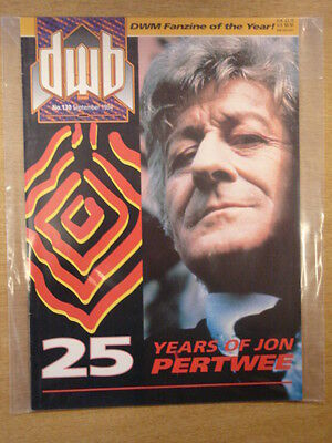 Doctor Who Dwb #130 1994 Sep British Magazine Dr Who Jon Pertwee Cover