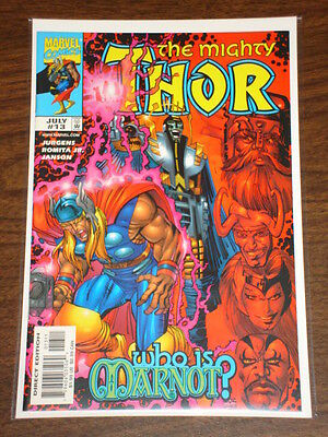 Thor #13 Vol2 The Mighty Marvel Comics July 1999