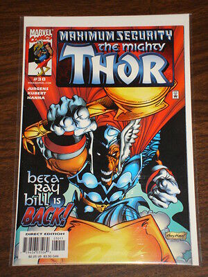 Thor #30 Vol2 The Mighty Marvel Comics Maximum Security December 2000