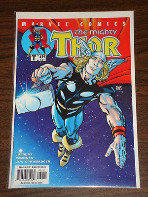 Thor #39 Vol2 The Mighty Marvel Comics September 2001