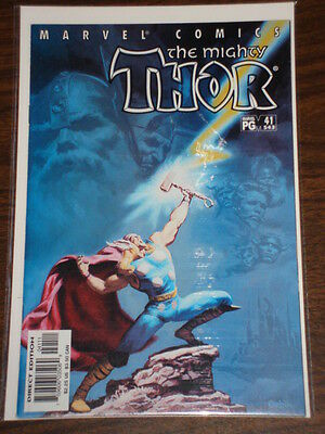 Thor #41 Vol2 The Mighty Marvel Comics November 2001