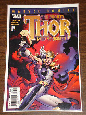 Thor #46 Vol2 The Mighty Marvel Comics April 2002