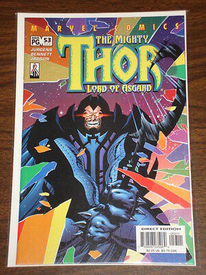 Thor #53 Vol2 The Mighty Marvel Comics November 2002