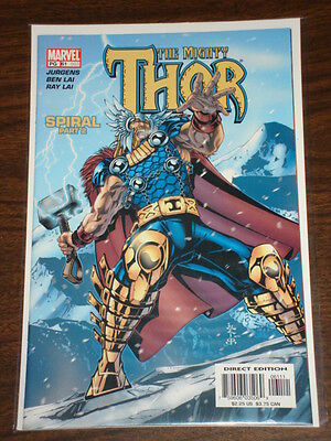 Thor #61 Vol2 The Mighty Marvel Comics May 2003