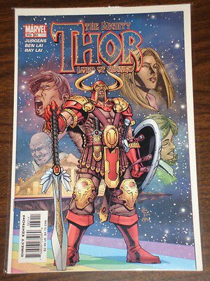 Thor #62 Vol2 The Mighty Marvel Comics June 2003
