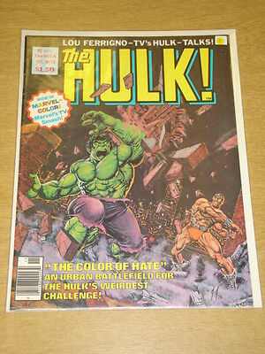 Incredible Hulk #12 1978 Dec Vf Magazine Management Us Mag Ferrigno Rampaging
