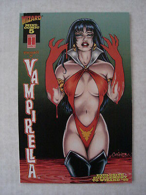 Vampirella Vengeance Of Mini Comic #5 Harris Wizard February 1996