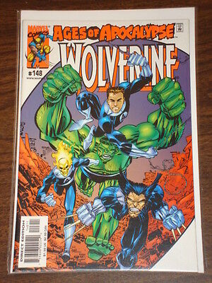 Wolverine #148 Vol1 Marvel Comics X-Men Scarce March 2000