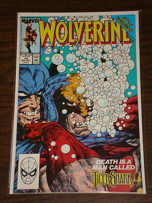 Wolverine #19 Vol1 Marvel Comics X-Men Byrne December 1989