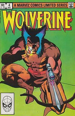 Wolverine #4 Marvel Comics Limited Series December 1982