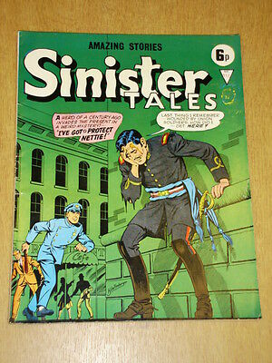 Sinister Tales #113 Alan Class British Comic Vintage Amazing Stories