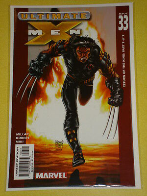 X-Men Ultimate #33 Vol1 Marvel Comics July 2003