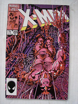 X-Men Uncanny #205 Marvel Origin Lady Deathstrike May 1986