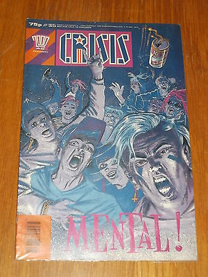 Crisis #35 6Th - 19Th January 1990 2000 A.d. British Weekly^