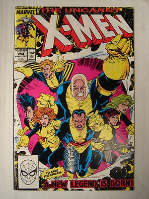 X-Men Uncanny #254 Marvel Comic 1St App New Team December 1989