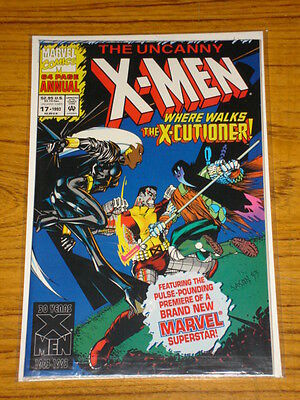 X-Men Uncanny Annual #17 Vol1 Marvel 1St App X-Cutioner 1993