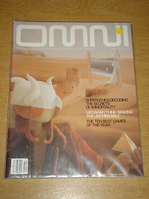 Omni #3 Vol 3 1980 Dec Vf Omni Publications Uk Magazine