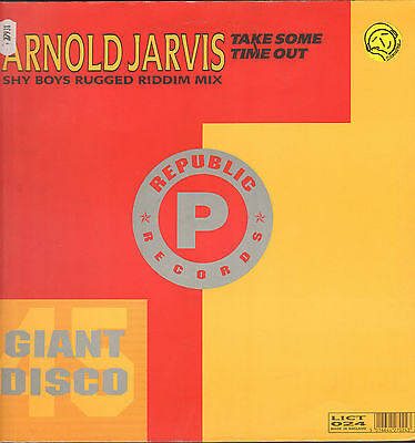 ARNOLD JARVIS - Take Some Time Out - Republic