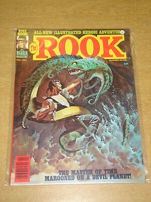 Rook #7 1981 Feb Vf Warren Us Magazine