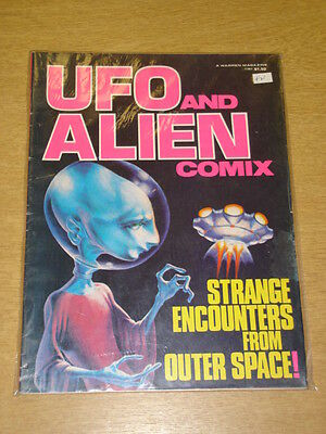 Ufo And Alien Comix Fn Warren Us Magazine Strange Encounters From Outer Space