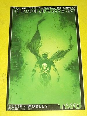 Blackcross Project Superpowers #2 Dynamite Comics Green Variant