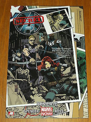 Avengers Secret Reverie Vol 1 Nick Fury Black Widow Marvel Gn 9780785166887