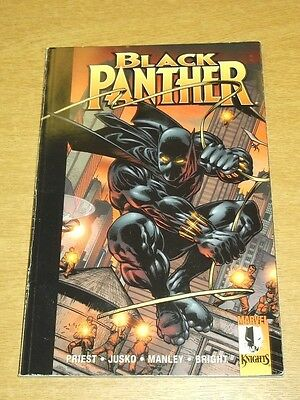 Black Panther Enemy Of The State Marvel Knights Priest Jusko< 9780857686343