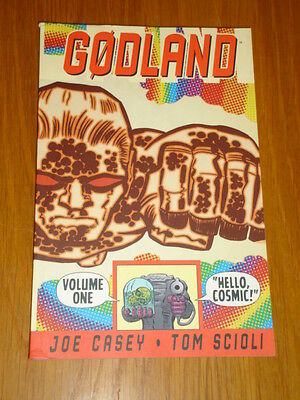 Godland Vol 1 Hello Cosmic Image Joe Casey Tom Scioli Graphic Novel<
