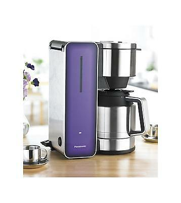 Panasonic NC-ZF1VXC Purple Filter Coffee Machine