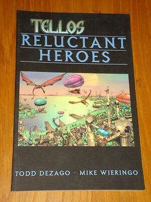 Tellos Reluctant Heroes Vol 1 Image Todd Dezago Mike Wieringo< 9781582401867