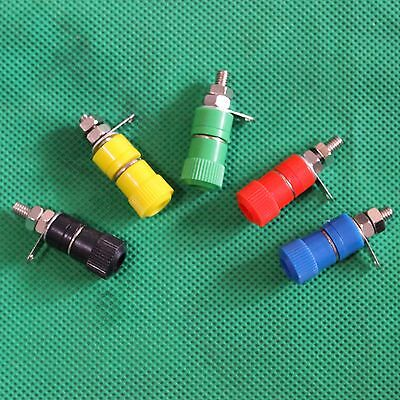 10 PCS Binding Post Speaker Terminal for 4mm Banana plug