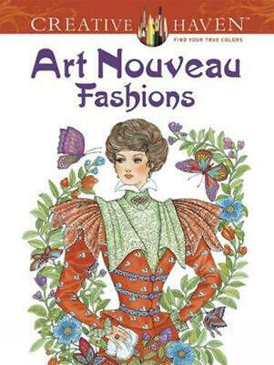 Art Nouveau Fashions by Ming-Ju Sun (English) Paperback Book Free Shipping!