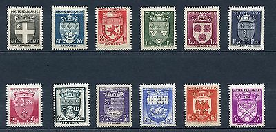 Promo /Stamp Timbre France Neuf Serie N° 553/564 ** Armoiries De Ville Cote 60 €
