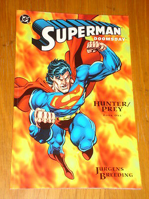 Superman Doomsday Hunter Prey Book 1 Dc Comics Dan Jurgens Graphic Novel