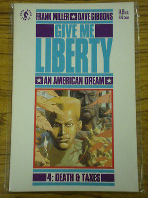 Give Me Liberty #4 Death Taxes Frank Miller Graphic Novel