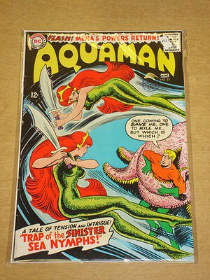 Aquaman #22 Fn- (5.5) Dc Comics August 1965 **