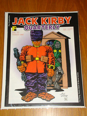 Jack Kirby Collector Quarterly Magazine #10 Summer 1998
