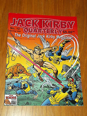 Jack Kirby Collector Quarterly Magazine #12 Spring 1999