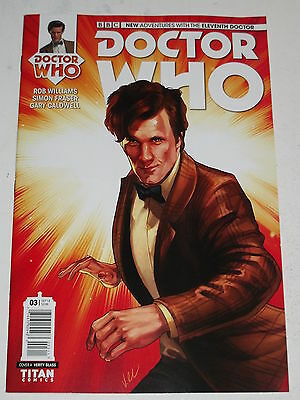 Doctor Who #3 Eleventh Doctor Titan Comics Cover A October 2014