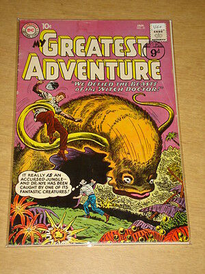 My Greatest Adventure #51 Vg+ (4.5) Dc Comics January 1961 **