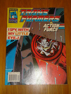 Transformers British Weekly #246 Marvel Uk Comic 1989