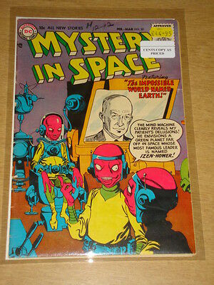 Mystery In Space #30 Fn- (5.5) Dc Comics February 1956 **