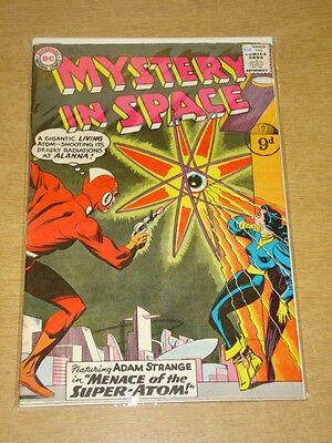 Mystery In Space #56 Fn/vf (7.0) Dc Comics December 1959 **