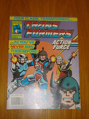 Transformers British Weekly #248 Marvel Uk Comic 1989