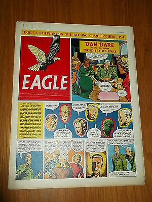 Eagle #29 Vol 5 16Th July 1954 British Weekly Dan Dare Space Adventures