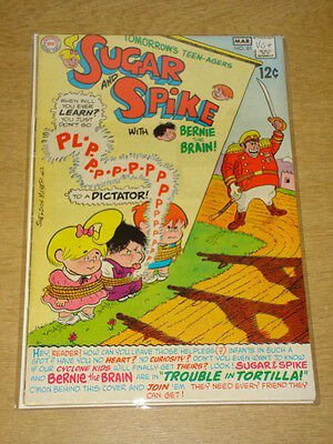 Sugar And Spike #81 Vg+ (4.5) Dc Comics March 1969 **