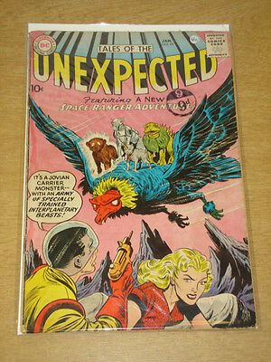 Tales Of The Unexpected #45 G/vg (3.0) Dc Comics January 1960 < **
